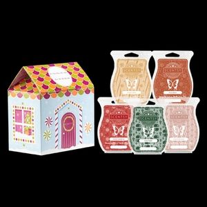 Scentsy Cozy Collection Boxed Wax Bar Set